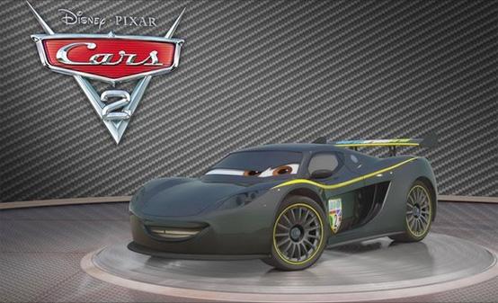 Lewis Hamilton comparirà nel cartone animato Cars 2