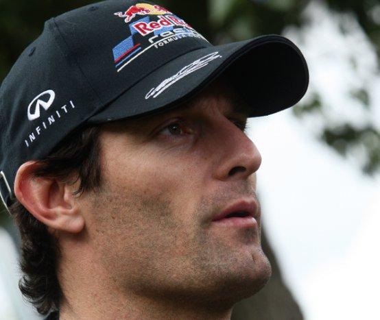 Webber, deluso, continua a pensare positivo