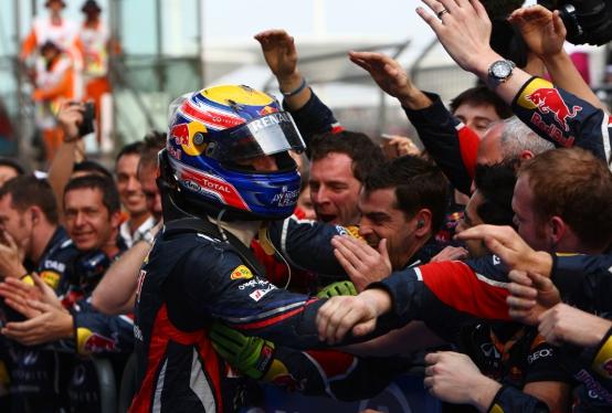Webber sollevato, Vettel non è più imbattibile