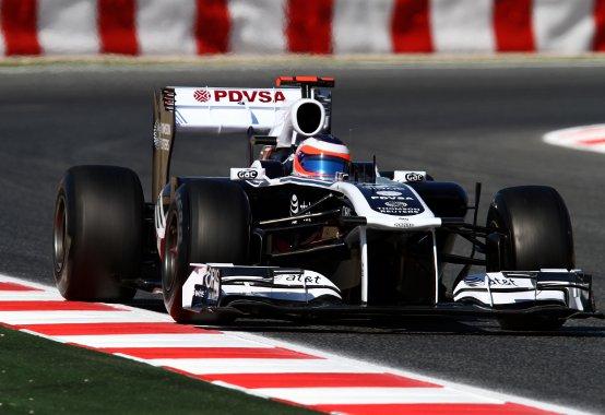 Williams: Testati i nuovi aggiornamenti nelle prove libere a Barcellona