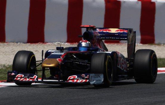 Toro Rosso troppo lenta in Spagna