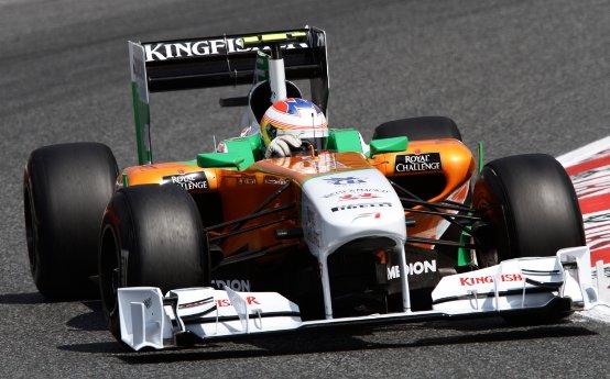 Force India: Di Resta e Sutil scommettono sulla strategia delle gomme
