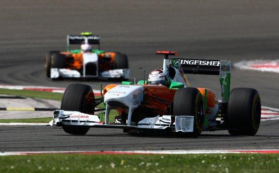Force India: Sutil e Di Resta soddisfatti della gara in Spagna