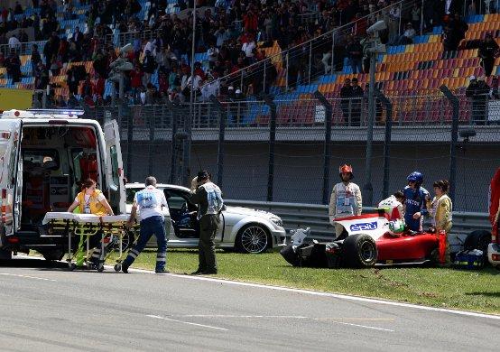 Ferrari: Torna presto Davide!