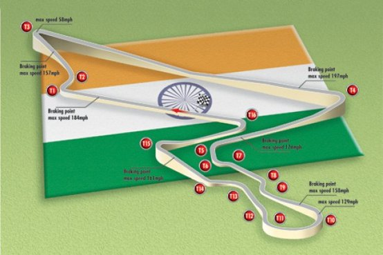 Difficoltà per i GP di India, USA e Grecia