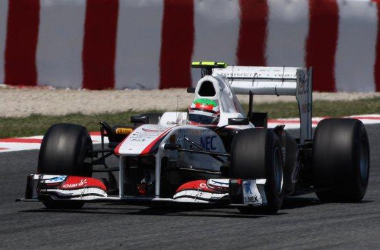 Sauber: Perez e Kobayashi in zona punti in Spagna