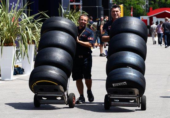 Le strategie degli pneumatici utilizzate dai Team in Spagna