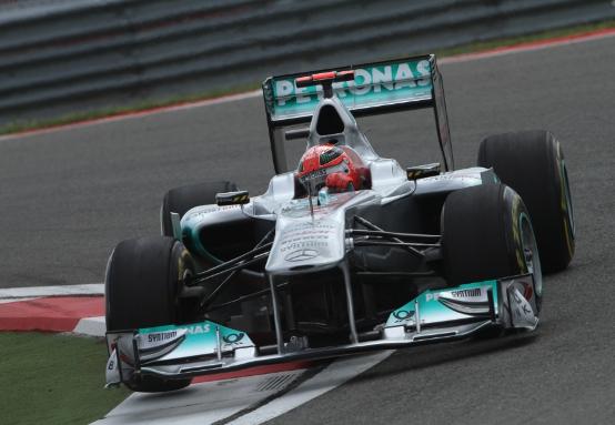 Schumacher deluso dalle prestazioni in Q3 ad Istanbul