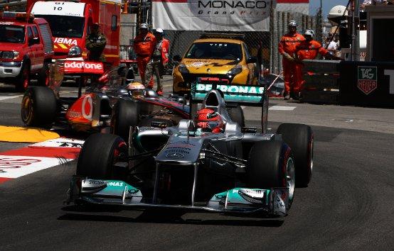 """Schumacher: """"Gara compromessa già in partenza"""""""