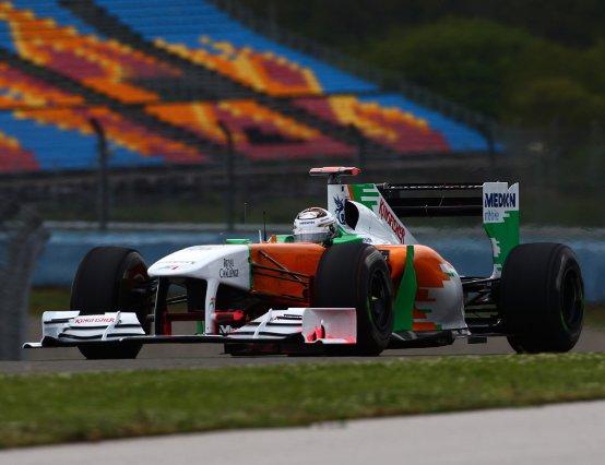 Force India: Test della nuova ala anteriore e valutazione delle gomme a Istanbul