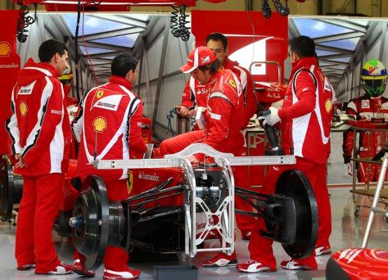 La Ferrari di nuovo in pista a Vairano