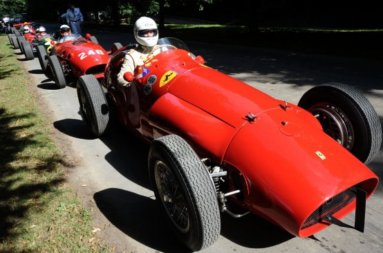 Ferrari al Goodwood Festival of Speed 2011