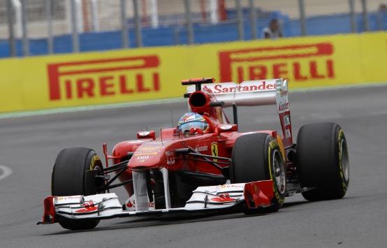 Ferrari, una qualifica molto serrata a Valencia
