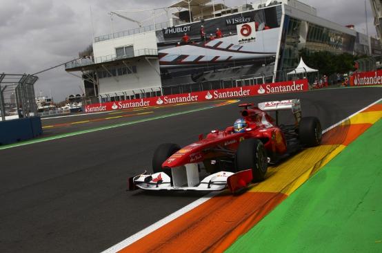"""Alonso: """"Ferrari competitiva a Valencia"""""""