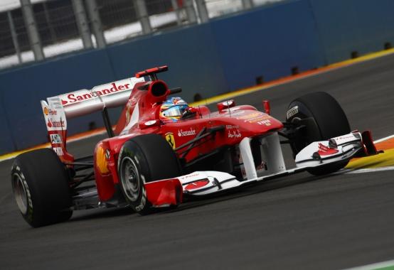 F1, GP Europa Prove Libere 2: Alonso e la Ferrari davanti a tutti