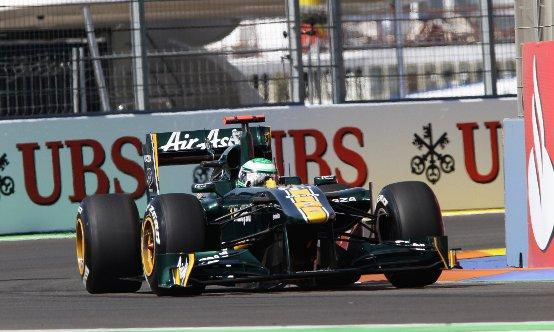 Team Lotus: 19ma e 20ma posizione in griglia a Valencia