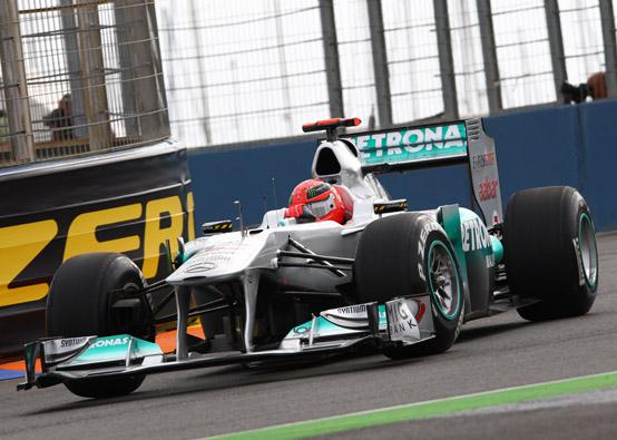 Schumacher ricorda Juan Manuel Fangio