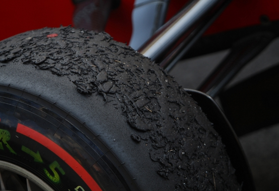 Pirelli ha in programma modifiche alle gomme di F1 per il 2012