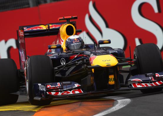 """Vettel: """"Non penso che il KERS funzioni qua a Valencia"""""""