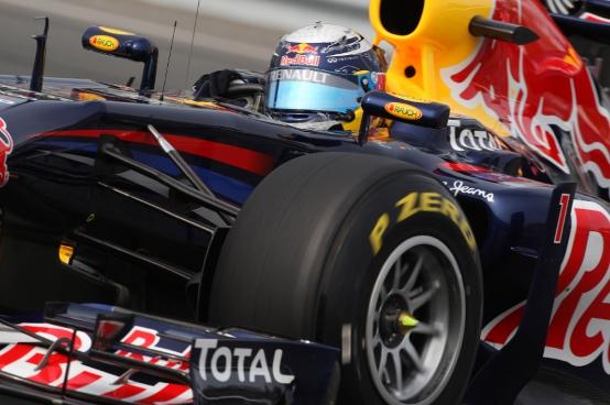 Vettel tranquillo in vista del divieto di utilizzo di scarichi soffianti