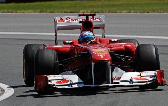 Ferrari: Un buon inizio per Alonso e Massa nelle libere del Nurburgring