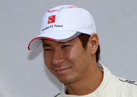 Kamui Kobayashi non ha paura di correre a Suzuka