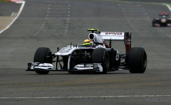 Williams, Maldonado ottimista per il Gran Premio d'Inghilterra dopo la buona prestazione in qualifica