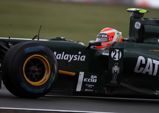 Il Team Lotus si sente moderatamente soddisfatto, nonostante la pioggia a Silverstone
