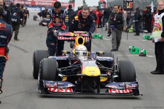 Sebastian Vettel e le amnesie da traffico