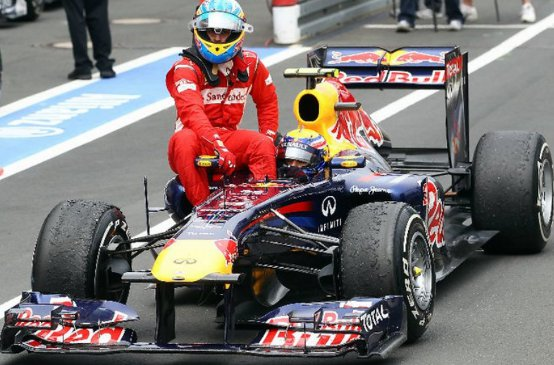 La Ferrari di Alonso passa i controlli FIA in Germania