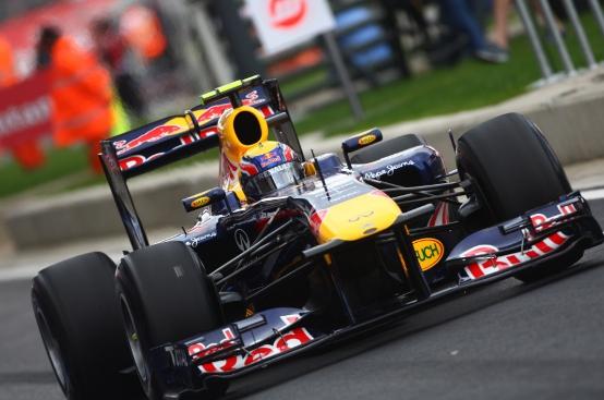 F1, GP Gran Bretagna: Webber in pole, Ferrari in seconda fila
