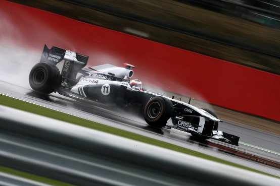 Williams: Barrichello nella top ten dopo le libere di Silverstone