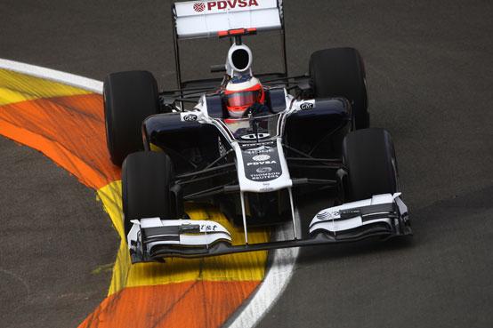 Williams con motori Renault in Formula 1 dal 2012