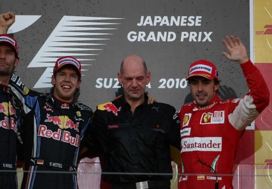 Alonso: Non basta Newey per vincere in Formula 1