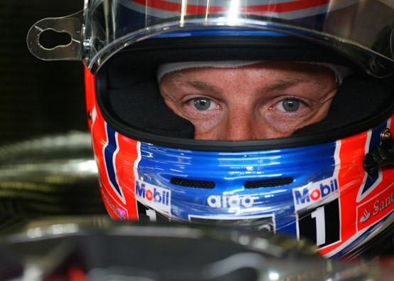 Button è deluso per la sua qualifica a Spa-Francorchamps