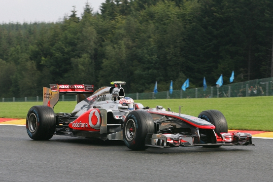 "Button: ""McLaren molto competitiva a Spa"""
