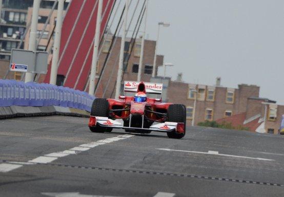 La Ferrari al Rotterdam City Racing