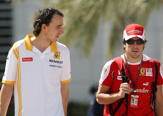 """Alonso: """"Kubica si metterà alle spalle questo brutto incidente molto in fretta"""""""
