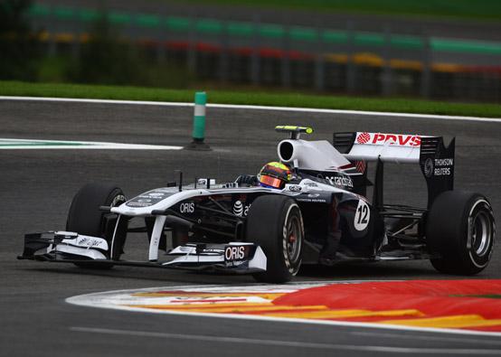 Pastor Maldonado penalizzato di cinque posizioni in griglia di partenza