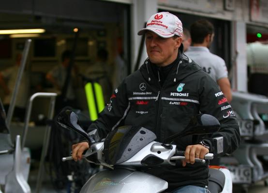 """Ecclestone: """"Schumacher sarebbe un buon team manager"""""""
