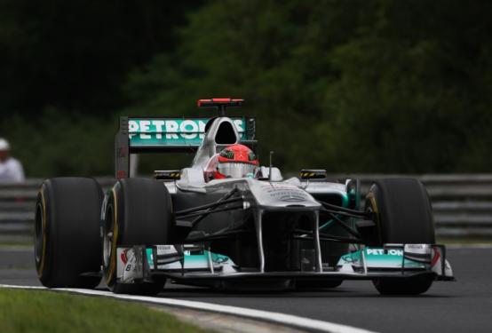 GP Belgio, Prove Libere 1: Miglior tempo per Schumacher