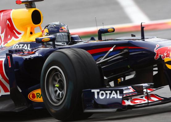 """Vettel: """"La Red Bull a Spa è stata molto più competitiva rispetto al passato"""""""