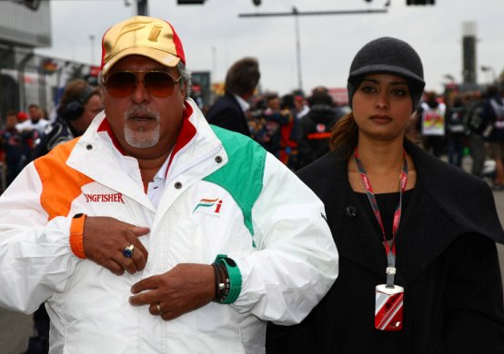 "Force India, Vijay Mallya: ""Orgoglioso per le notevoli performance del team"""