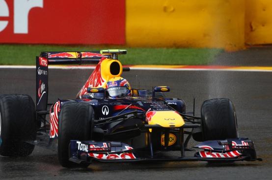 GP Belgio, Prove Libere 2: Webber davanti a tutti