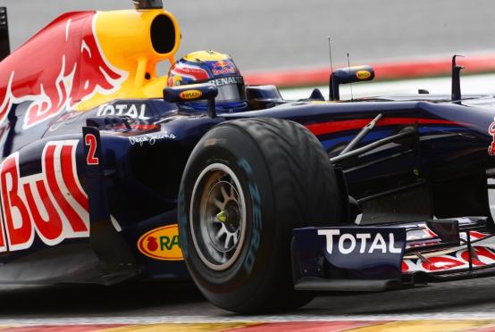 GP Belgio, Prove Libere 3: Webber il più veloce sul bagnato