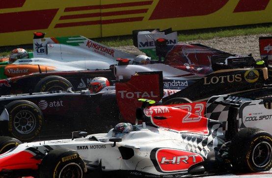 Williams: Barrichello e Maldonado fuori dalla zona punti a Monza