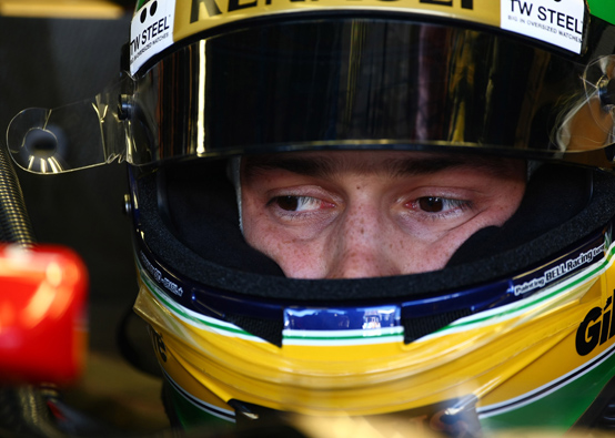 """Senna: """"Sono felice di essere arrivato a punti alla mia seconda gara in F1"""""""