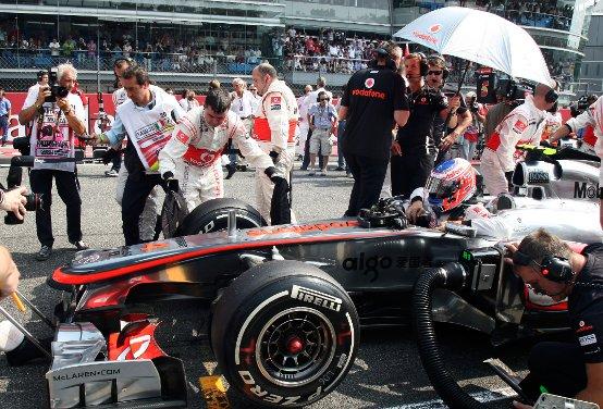 """McLaren, Button: """"Un peccato la mia brutta partenza"""""""