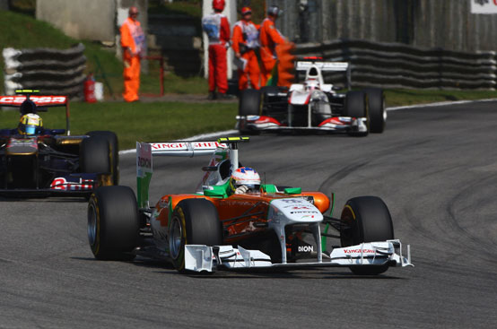 Force India: Paul Di Resta a punti al GP Italia