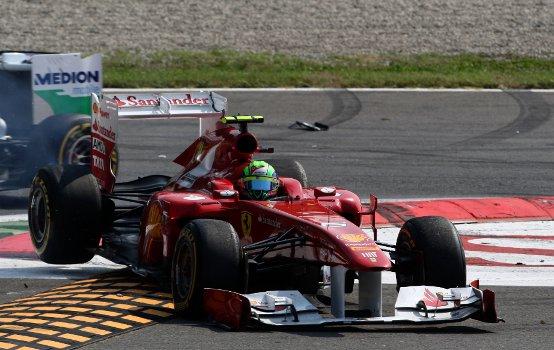 """Ferrari, Massa: """"Oggi potevo sicuramente lottare per il podio"""""""